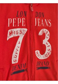 Czerwona bluza Pepe Jeans