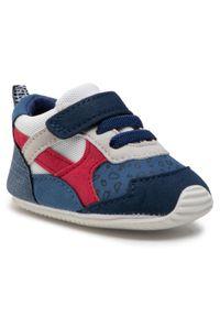 Mayoral - Sneakersy MAYORAL - 9399 Tomate 58. Zapięcie: rzepy. Kolor: niebieski. Materiał: skóra ekologiczna, materiał. Szerokość cholewki: normalna