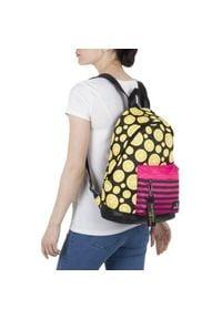 Czarny plecak młodzieżowy #1