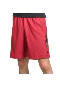 Czerwone spodenki sportowe Nike tenisowe