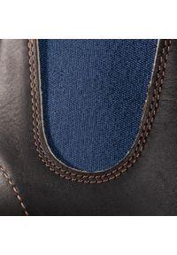 Czarne buty zimowe Blundstone z cholewką #6