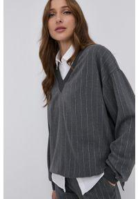 Nissa - NISSA - Bluza. Kolor: szary. Długość rękawa: długi rękaw. Długość: długie