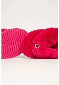 Flip*Flop - Kapcie Original fur. Kolor: różowy. Materiał: guma