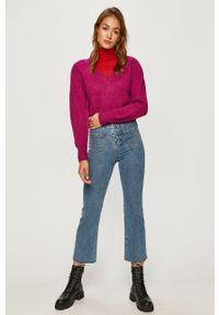 Sweter Pepe Jeans na co dzień, długi, casualowy