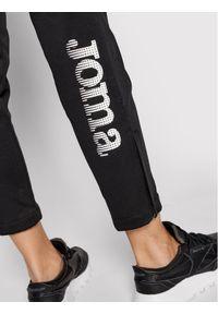 Joma Spodnie dresowe Nilo 100165.100 Czarny Regular Fit. Kolor: czarny. Materiał: dresówka