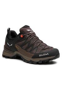 Brązowe buty trekkingowe Salewa