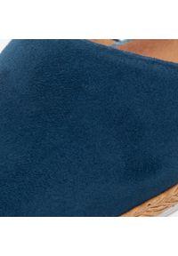 Niebieskie półbuty Maciejka na co dzień, z cholewką, casualowe