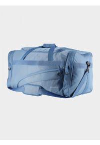 Niebieska torba podróżna Everhill sportowa
