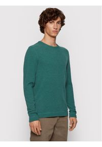 Zielona koszulka z długim rękawem BOSS