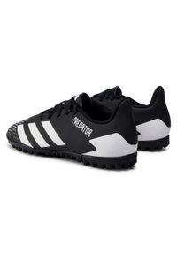 Czarne turfy Adidas z cholewką