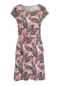 Soyaconcept Dżersejowa sukienka we wzory Felicity różowy we wzory female różowy/ze wzorem XXL (46). Kolor: różowy. Materiał: jersey. Długość rękawa: krótki rękaw. Typ sukienki: proste