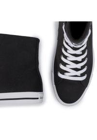 Czarne półbuty Calvin Klein Jeans z cholewką, klasyczne
