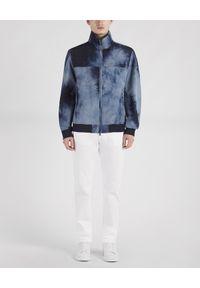 PAUL & SHARK - Niebieska kurtka z ukrytym kapturem. Okazja: na co dzień. Kolor: niebieski. Materiał: bawełna, tkanina, jeans. Styl: wakacyjny, casual, sportowy