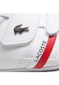 Lacoste Sneakersy Misano Strap 0721 1 Cma 7-41CMA0045286 Biały. Kolor: biały
