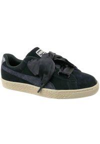 Czarne buty sportowe Puma z cholewką