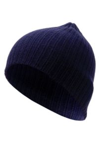 Niebieska czapka Pako Jeans na jesień