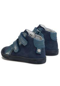 Bartek - Trzewiki BARTEK - 71384/2VKC Granatowy. Kolor: niebieski. Materiał: skóra, zamsz. Szerokość cholewki: normalna. Sezon: zima