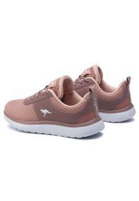 Różowe buty do fitnessu KangaRoos na co dzień, z cholewką