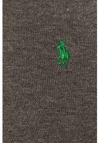 Szara koszulka polo Polo Ralph Lauren polo, krótka