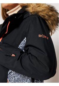 Roxy Kurtka narciarska Jet ERJTJ03265 Czarny Slim Fit. Kolor: czarny
