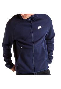 Bluza Nike Sportswear Tech Flleece 928483-451. Typ kołnierza: kaptur. Materiał: bawełna, poliester, materiał. Styl: klasyczny, elegancki