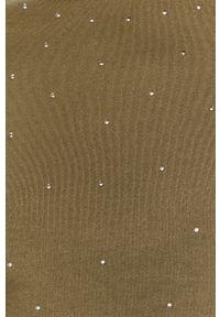 Zielona bluza Jacqueline de Yong bez kaptura, na co dzień, z długim rękawem