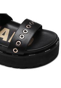 Czarne sandały Buffalo #7