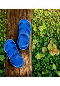 REALPAKS - Klapki dziecięce Realpaks SLD-06/2 Niebieskie. Okazja: na plażę. Kolor: niebieski. Materiał: tworzywo sztuczne. Styl: młodzieżowy