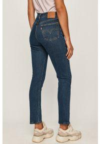 Niebieskie jeansy Levi's® z podwyższonym stanem, biznesowe #4