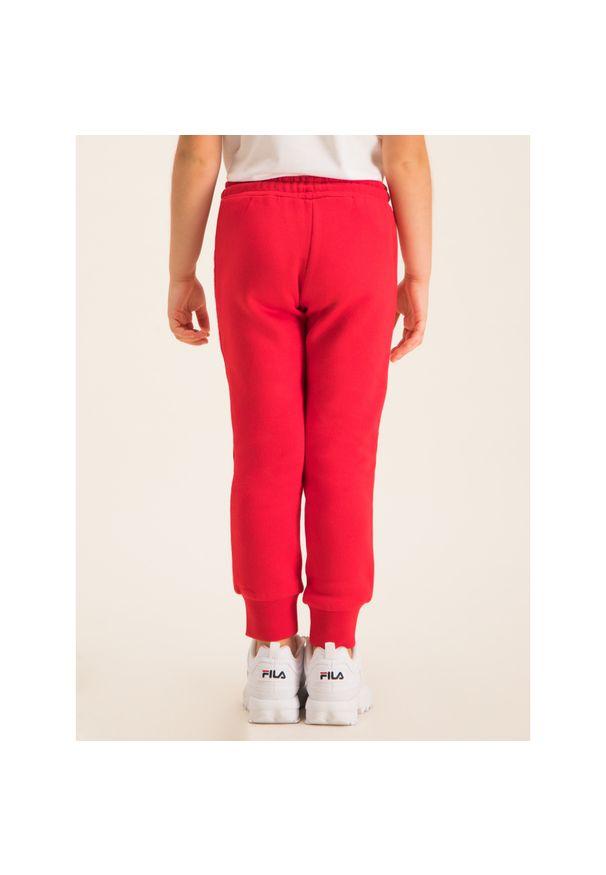 Czerwone spodnie dresowe TOMMY HILFIGER