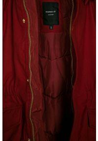 Czerwona kurtka Name it na co dzień, z kapturem