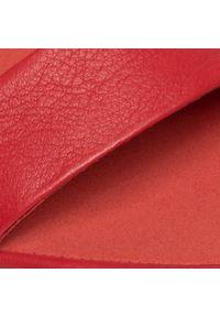 Czerwone sandały Camper na co dzień, casualowe