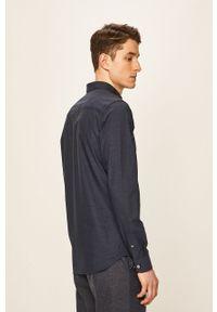 Niebieska koszula Premium by Jack&Jones casualowa, na co dzień