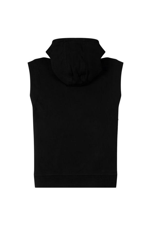 Czarna sukienka DKNY prosta, casualowa, na co dzień