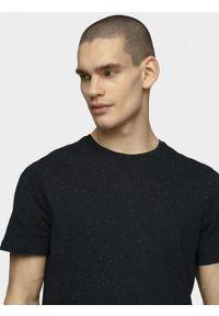 outhorn - T-shirt męski. Okazja: na co dzień. Materiał: bawełna, materiał, elastan. Styl: casual