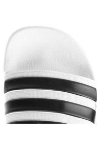 Adidas - Klapki adidas - adilette Shower AQ1702 Ftwwht/Cblack/Ftwwht. Zapięcie: pasek. Kolor: biały. Materiał: syntetyk. Wzór: paski. Model: Adidas Cloudfoam