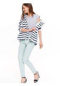 Niebieskie spodnie TROLL na lato, casualowe #6