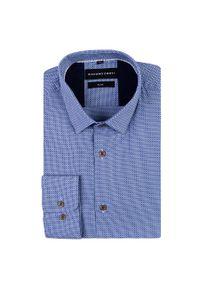 Koszula Giacomo Conti biznesowa, z długim rękawem, w kolorowe wzory