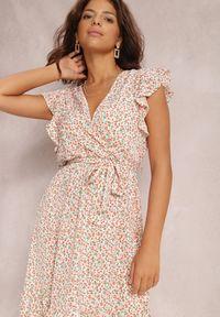 Renee - Biała Sukienka Syliseis. Kolor: biały