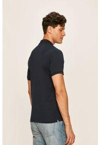 Niebieska koszulka polo Selected na co dzień, polo, casualowa