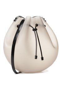 Szara torebka worek melissa klasyczna