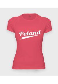 MegaKoszulki - Koszulka damska sportowa Poland. Materiał: poliester