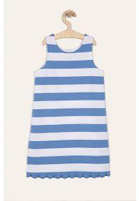 Niebieska sukienka Polo Ralph Lauren na co dzień, casualowa, prosta, bez rękawów