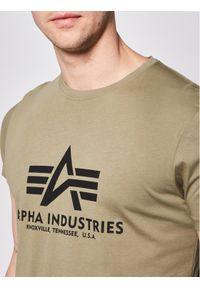 Zielony t-shirt Alpha Industries #5