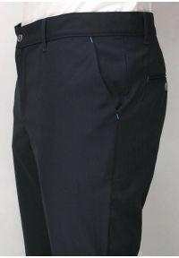 Niebieskie spodnie un SARTO wizytowe