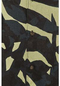 Only & Sons - Koszula bawełniana. Okazja: na co dzień. Typ kołnierza: kołnierzyk klasyczny. Kolor: zielony. Materiał: bawełna. Długość rękawa: krótki rękaw. Długość: krótkie. Styl: klasyczny, casual