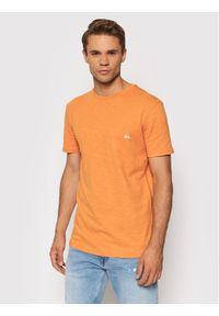 Quiksilver T-Shirt Witton EQYKT04118 Pomarańczowy Regular Fit. Kolor: pomarańczowy