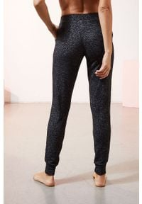 Czarna piżama Etam melanż
