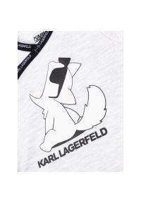 Szare body Karl Lagerfeld