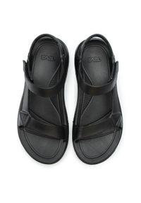 Czarne sandały trekkingowe Teva